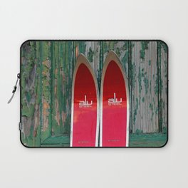 Vintage Skis - Fischer Alu Laptop Sleeve