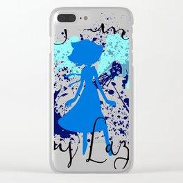 I am Lapis Lazuli Clear iPhone Case