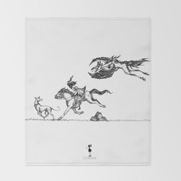 The Chase Throw Blanket