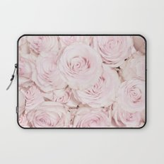 Roses have thorns- Pink Rose Flowers Laptop Sleeve