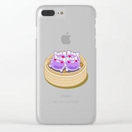 Dimsum Gengar Har Gao (Gengao) Clear iPhone Case