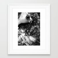 toilet Framed Art Prints featuring Toilet by Watson Burch
