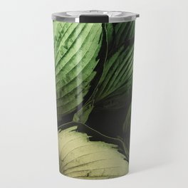 Vintage Japanese Hosta Travel Mug