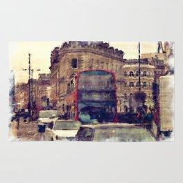 Southwark Scene - London England Rug