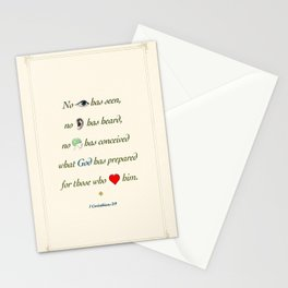 No Eye Has Seen Stationery Cards