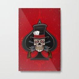 Dead Man's Hand Metal Print