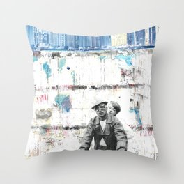 Two Wheels and the Power Throw Pillow