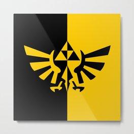Legend Of Zelda Triforce Metal Print