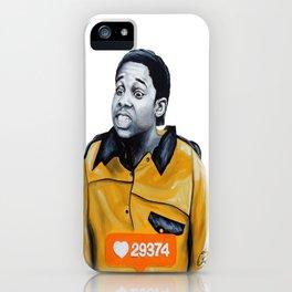 Theo Huxtable Tucked into my Socks! iPhone Case