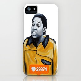 Theo Huxtable Tucked into my Socks! iPhone Case