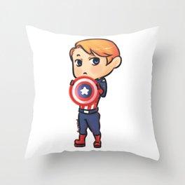 little Steve Throw Pillow