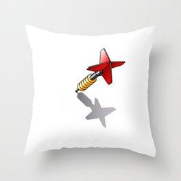 dart Throw Pillow