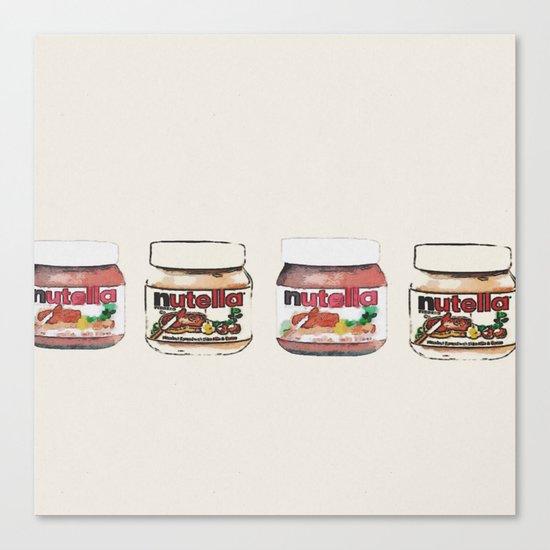 nutella-328 Canvas Print