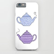 Patterned Teapots Slim Case iPhone 6
