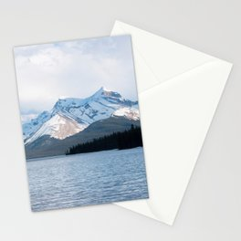 Snow Covered Mountain Photography Print Stationery Cards
