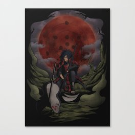 Uchiha Madara Canvas Print