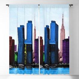 Midtown Manhattan New York City Skyline Portrait - Jéanpaul Ferro Blackout Curtain