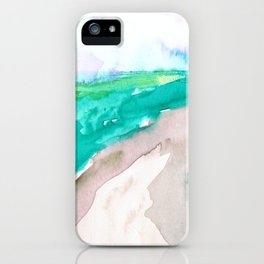 Rice fields iPhone Case