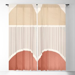 Minimal Geometric Shapes 93 Blackout Curtain