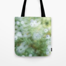 Flowers & Swirl Tote Bag