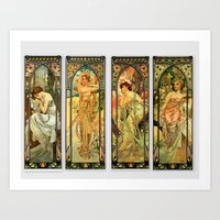 art deco Art Prints featuring Art Deco  by The Morgan Way