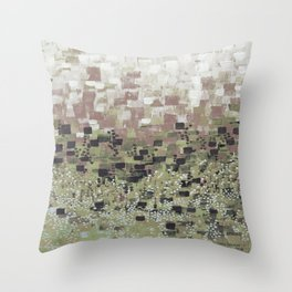 :: Camo Compote :: Throw Pillow