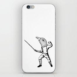 Fincher-Fencer iPhone Skin