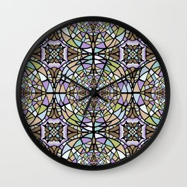 Mosaic I Wall Clock