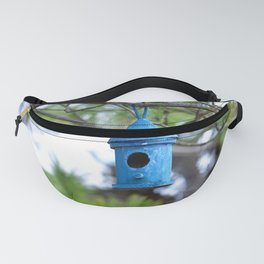 Empty Bird House Fanny Pack