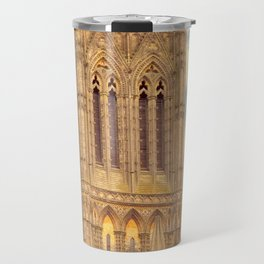 Central Tower of Lincoln Cathedral Travel Mug