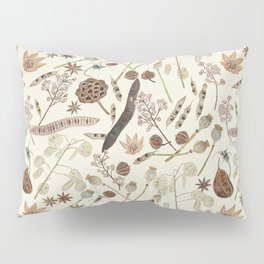 Seed Pods Pillow Sham