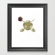 Shelter The Weak Framed Art Print