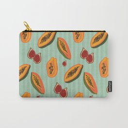 Papayas & Figs Carry-All Pouch