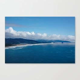 View from Cape Lookout Canvas Print