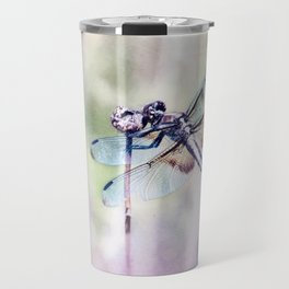 Dragonfly in Pastels Travel Mug