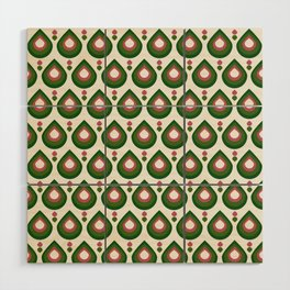 Drops Retro Confete Wood Wall Art