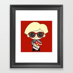 Little Artist 2 Framed Art Print