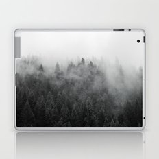 Black and White Mist Laptop & iPad Skin