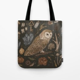 Harvest Owl Tote Bag