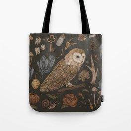 Harvest Owl Tote Bag