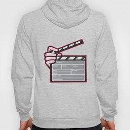 Movie Clapboard Hand Cartoon Hoody