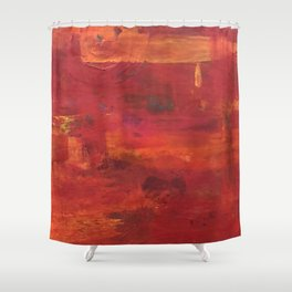 Hold my hand in your Heart Shower Curtain