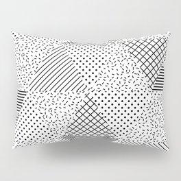 2. Patern in memphis, pop art style Pillow Sham