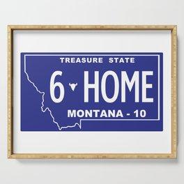 Montana Home - Bozeman, Gallatin County Serving Tray