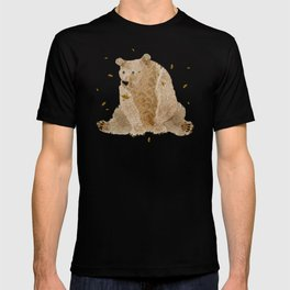 bear grizzly  T-shirt