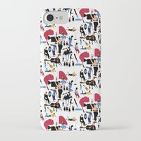 it crowd iPhone & iPod Cases featuring CROWD by Michela Buttignol