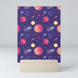 fantasy galaxy Mini Art Print