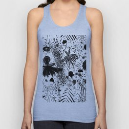French Fashion Unisex Tank Top