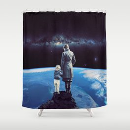 Where the moments are growing up! Shower Curtain
