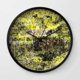 Burning Down the Concept of Heaven Wall Clock